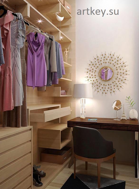 изготовление гардеробной мебели по своему проекту