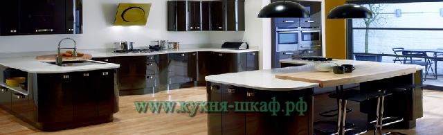 Современные кухни в стиле хай-тек и модерн