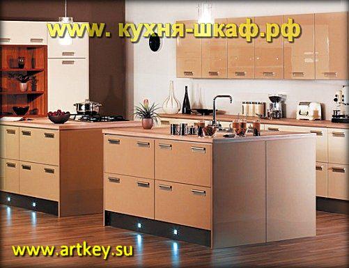 Кухни модерн от производителя на заказ в Петербурге и Ленинградской области