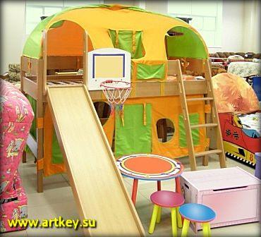 Изготовление недорогой детской мебели на заказ в Петербурге и Ленинградской области