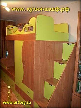 Одно из самых важных мест в доме для ребенка — его комната. Сегодня наличие у ребенка собственного уголка в доме — совсем не редкость. В комнате малыш не просто спит и играет, он учится и растет. Поэтому мебель там играет огромную роль в развитии личности подрастающего человека.  Выбирая детскую мебель нужно помнить, что она значительно отличается от обычной. Предметы должны иметь простую форму и крупные детали. Мебель должна быть не только яркой и красивой, но и безопасной, практичной. Следует избегать острых углов и выступающих конструкций, все поверхности должны быть гладкими.