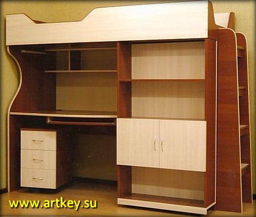 Изготовление детской мебели на заказ в Петербурге и Ленинградской области
