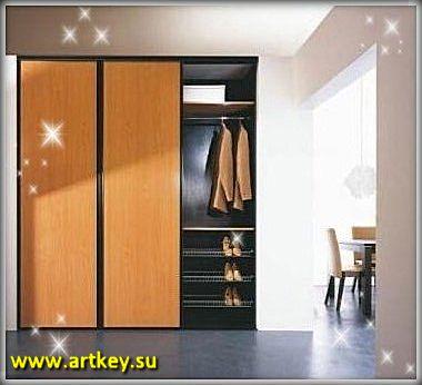 Изготовление встроенных шкафов купе на заказ в Петербурге и Ленинградской области