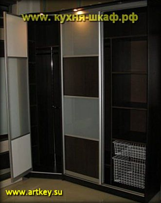 Шкафы купе в алюминиевом профиле