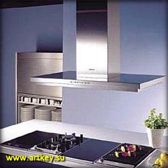 Бытовая встроенная кухонная техника вытяжки