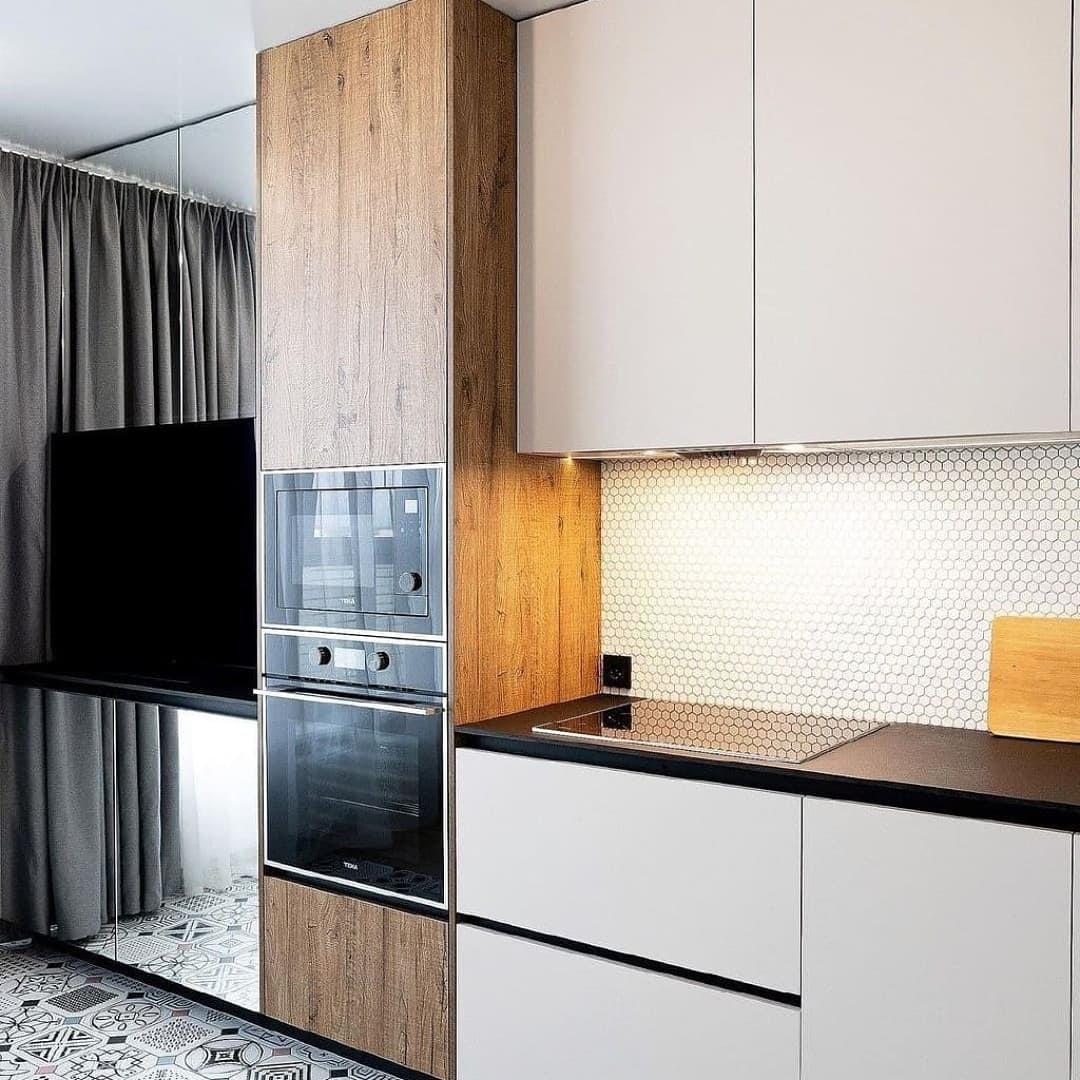 Исправить ошибки проектирования угловой кухни