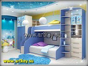 Производство детской мебели на заказ в Петербурге и Ленинградской области