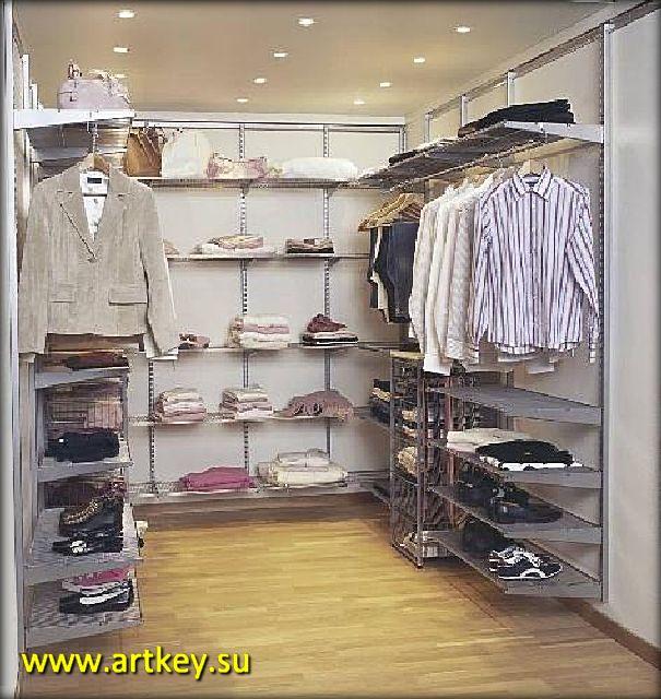 Elfa система для наполнения гардеробной комнаты